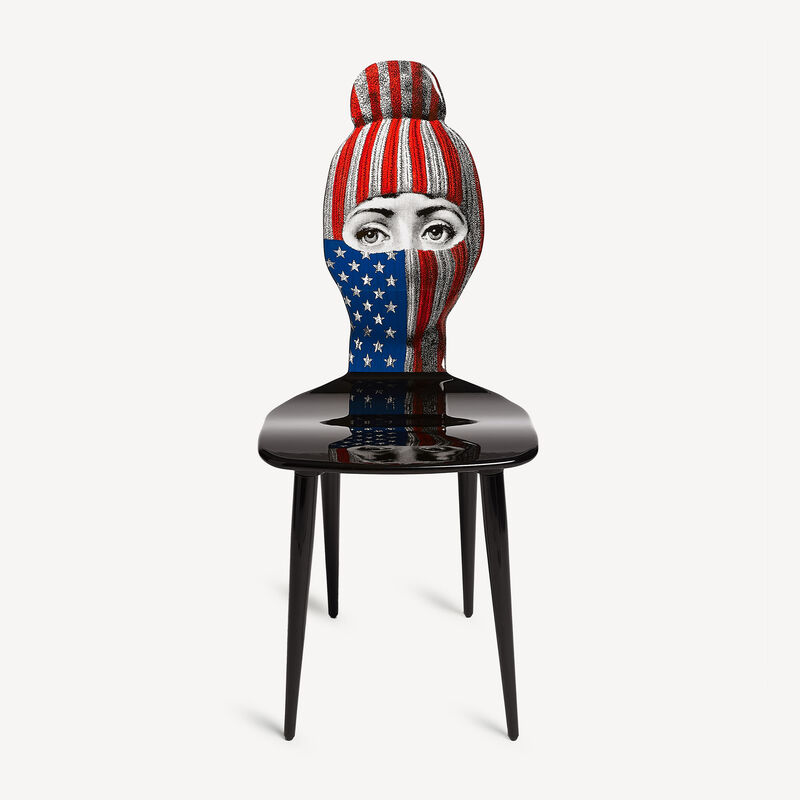 Chair Lux Gstaad - USA flag FORNASETTI