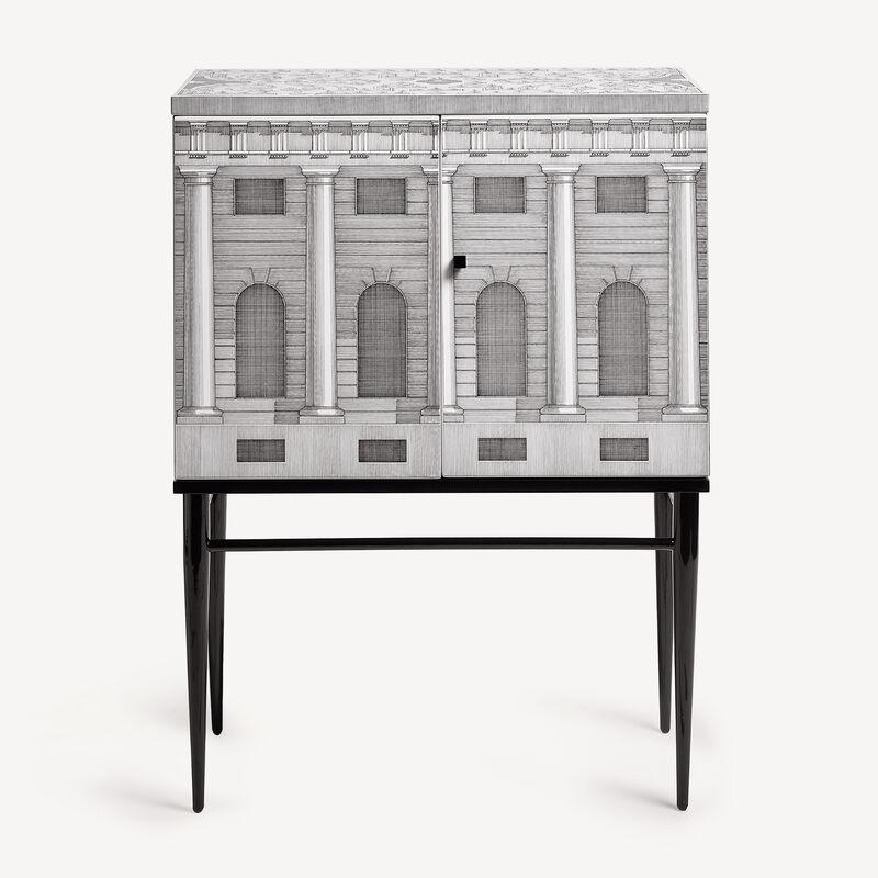 Raised small sideboard Architettura FORNASETTI