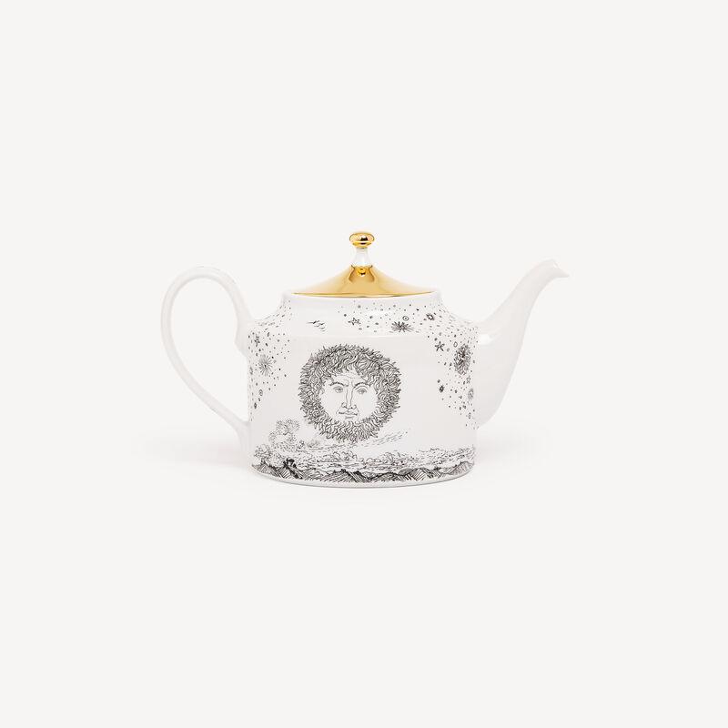 Teapot Solitario FORNASETTI