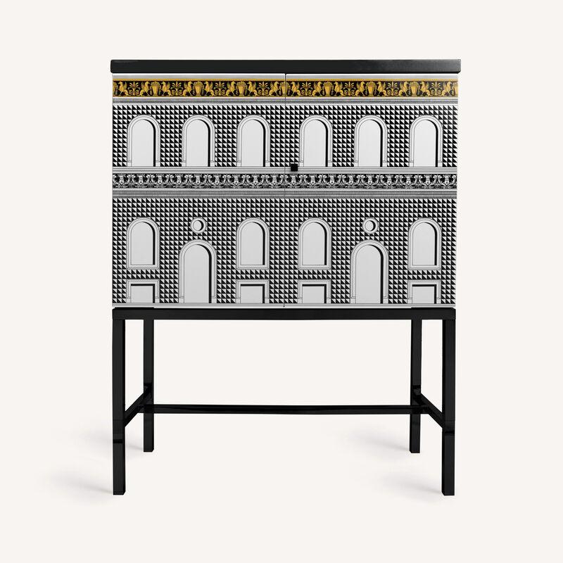 Raised sideboard Facciata Quattrocentesca FORNASETTI