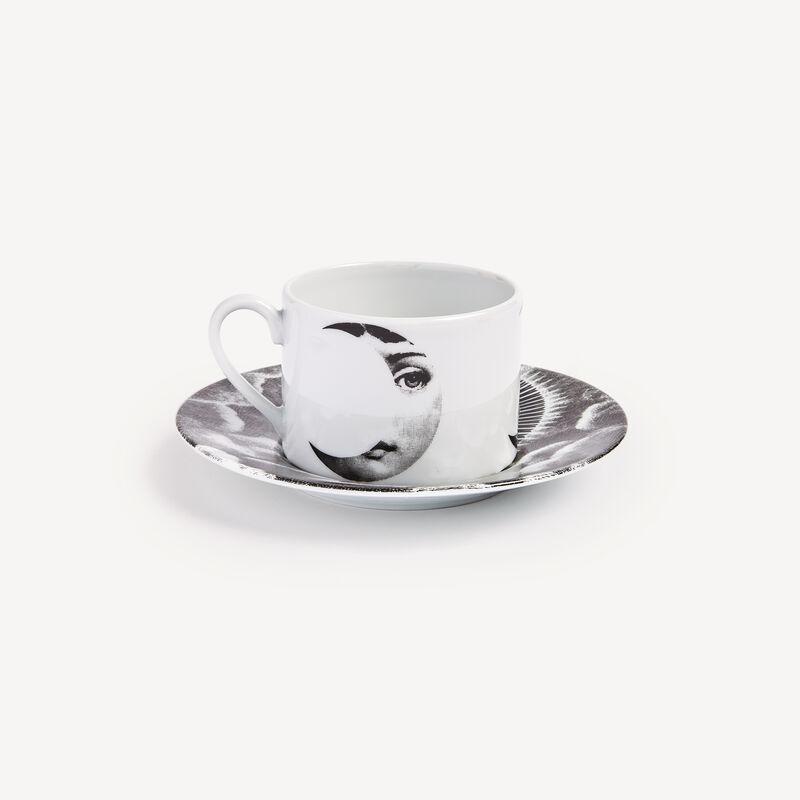 Tea cup Tema e Variazioni Sole e Luna FORNASETTI