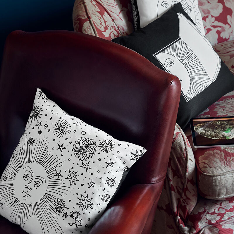 Cushion Solamente FORNASETTI