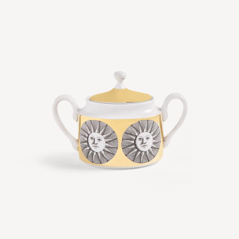 Sugar bowl Sole FORNASETTI