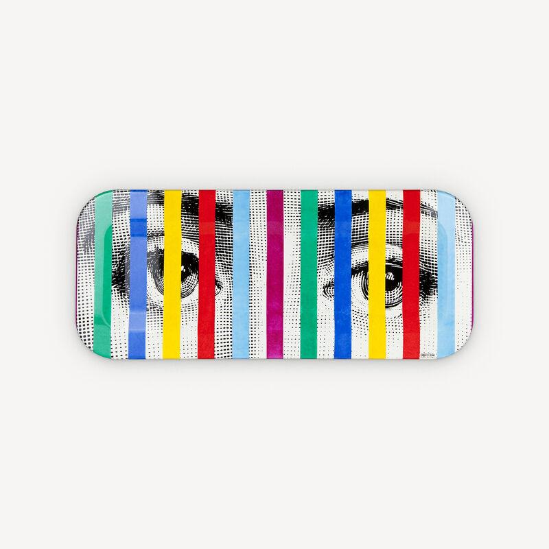 Tray Face & Stripes FORNASETTI