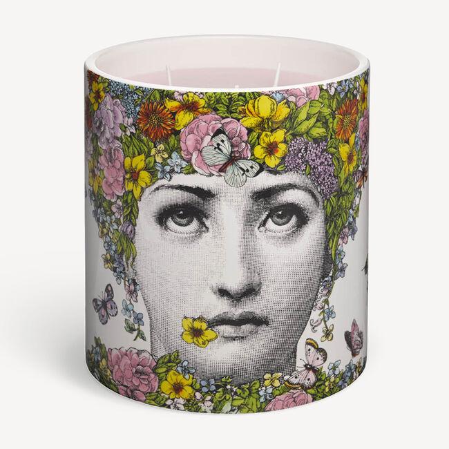 Fornasetti Candle Flora - Flora Scent In Multicolour